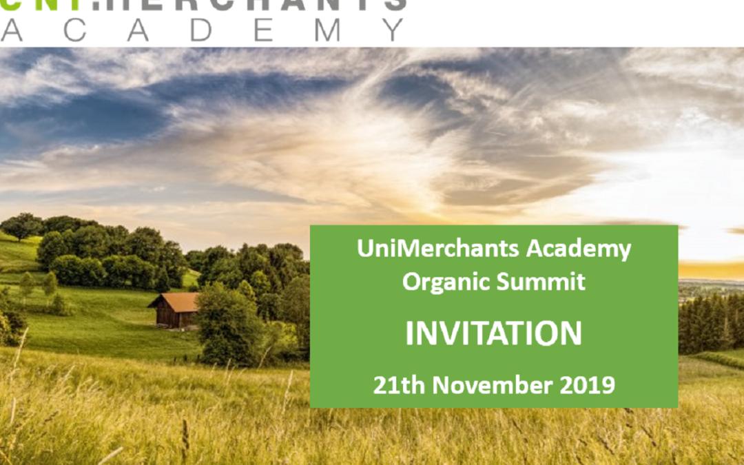 UniMerchants Academy Organic Summit 2019